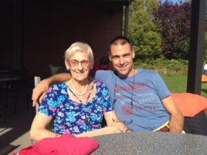 Bene Bailleul & Annie Vanagt (mama)