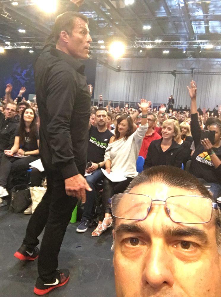 Tony Robbins & Bene Bailleul